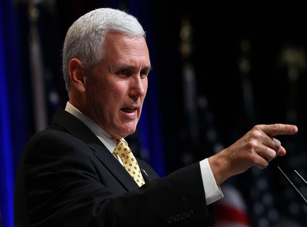 Governor Pence of Indiana
