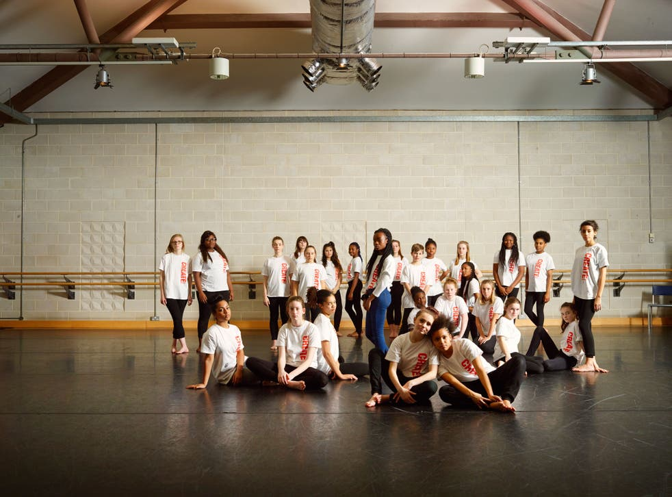 Bourne's New Adventures dance company worked with 27 young Londoners to devise a curtain-raiser staged before New Adventures' performance of Edward Scissorhands