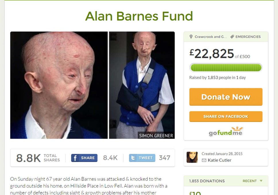 I just wanted to help': Beautician who set up GoFundMe page