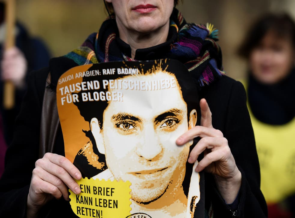 The international protests about his case may be saving Raif Badawi from flogging.