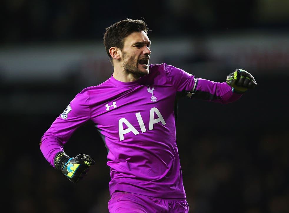 Tottenham goalkeeper Hugo Lloris i