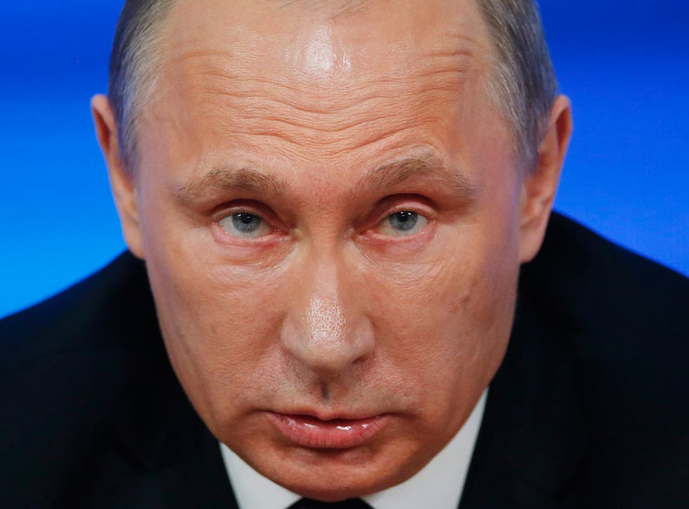 Stalin MKII? Vladimir Putin isn't going to give up power of his own accord (EPA)