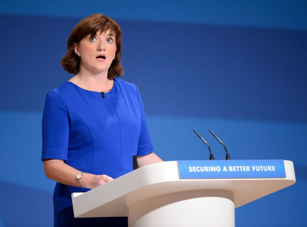 Nicky Morgan has tried to mend fences with angry teachers (AFP/Getty)