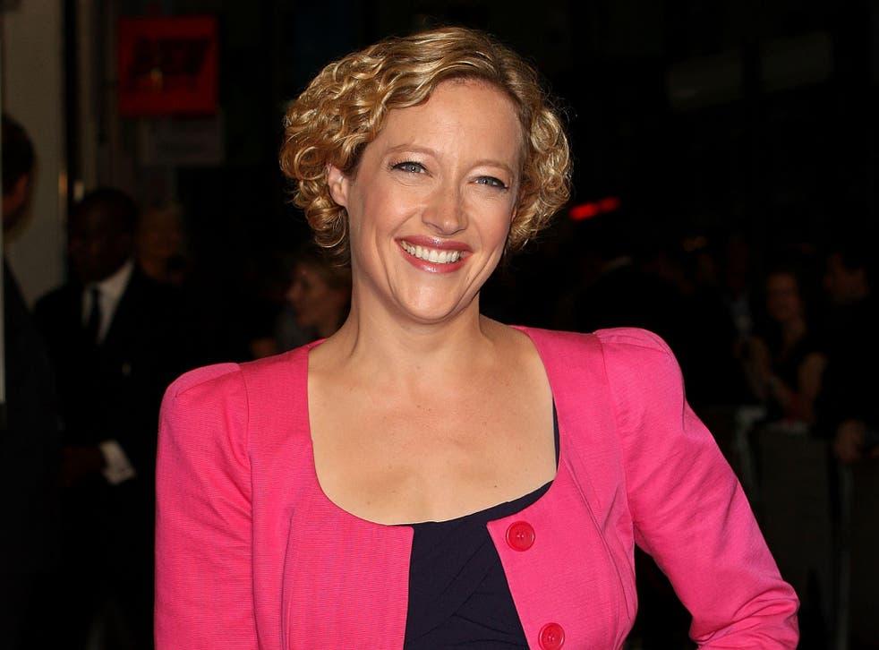 Channel 4 News presenter Cathy Newman