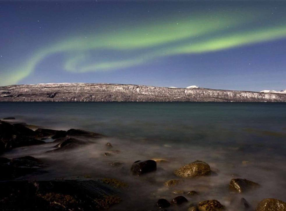 The Aurora are more impressive when viewed through a lens