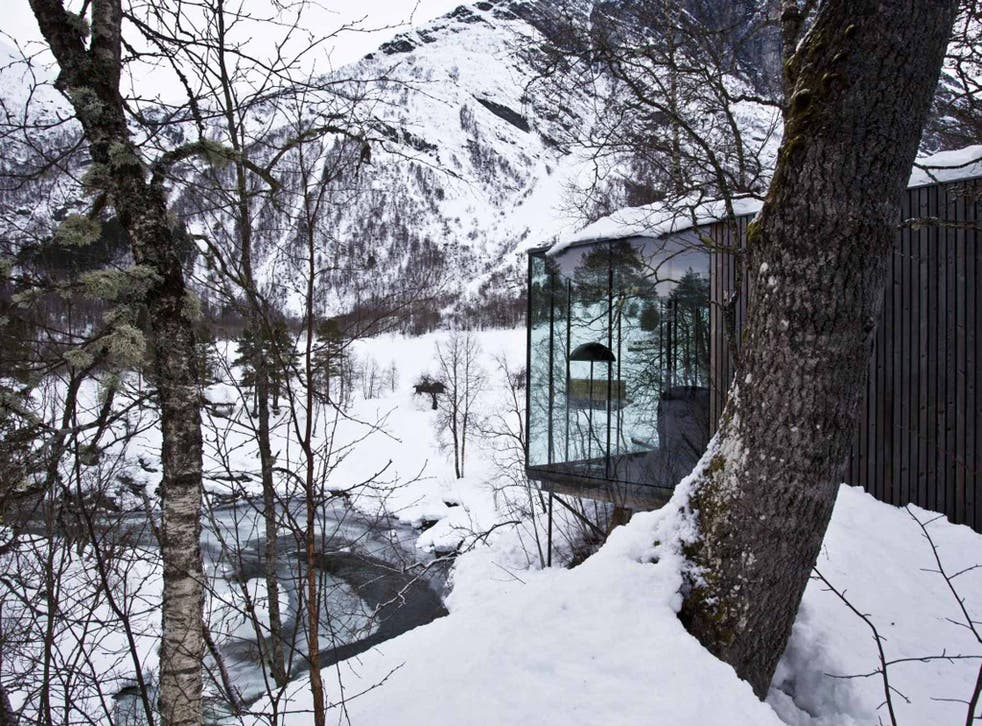 Room with a view: Juvet Landscape Hotel