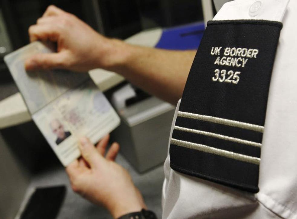 The data system which alerts the professional border guards to immigration issues breaks down twice a week