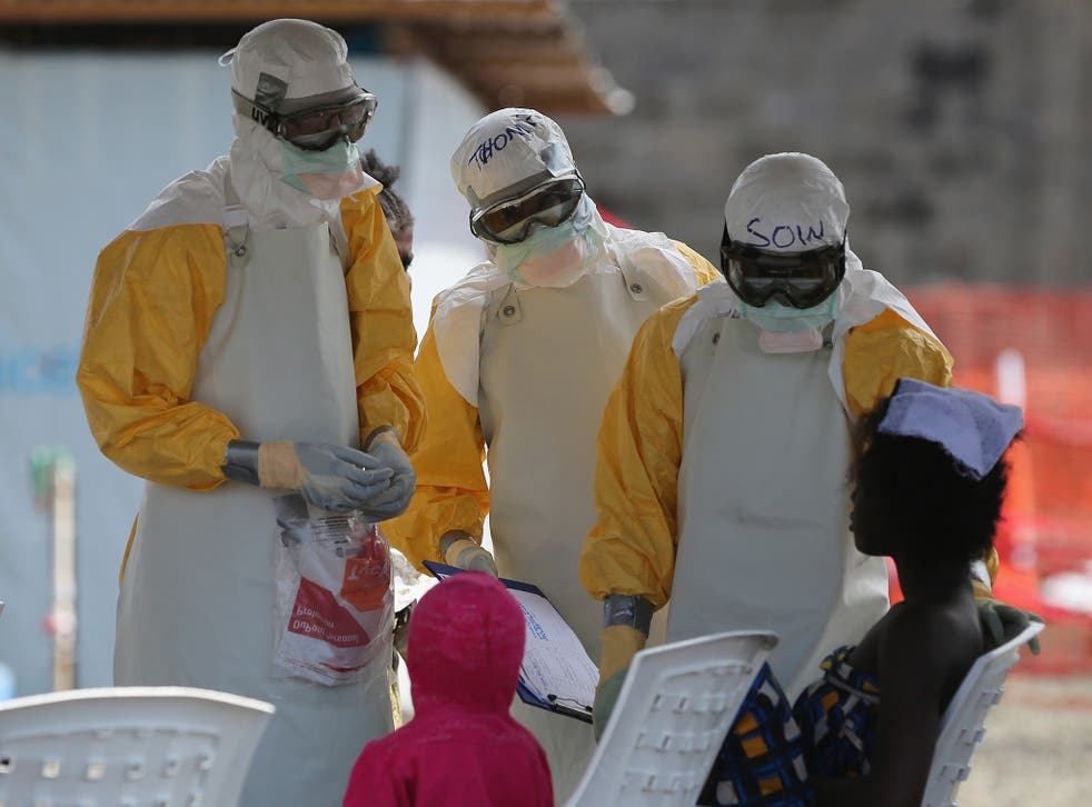 More than 21,797 cases of Ebola have been recorded since the current outbreak in West Africa began; Liberia has been one the main countries affected by the disease (Getty)