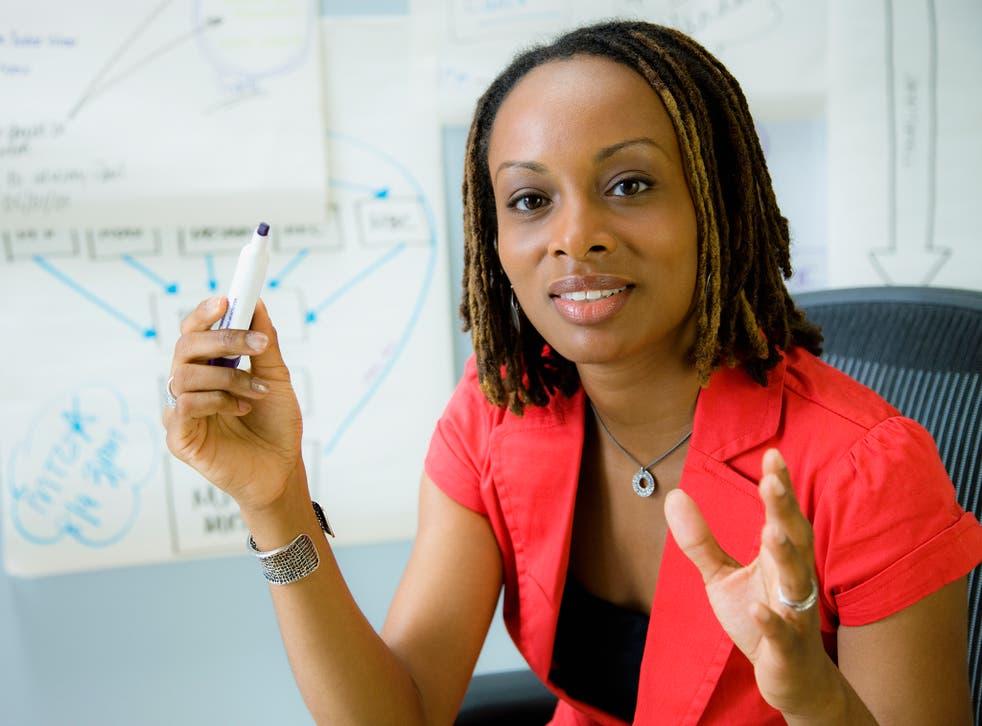 Overall, just 0.49 of university professors per cent are black (FILE PHOTO Corbis)