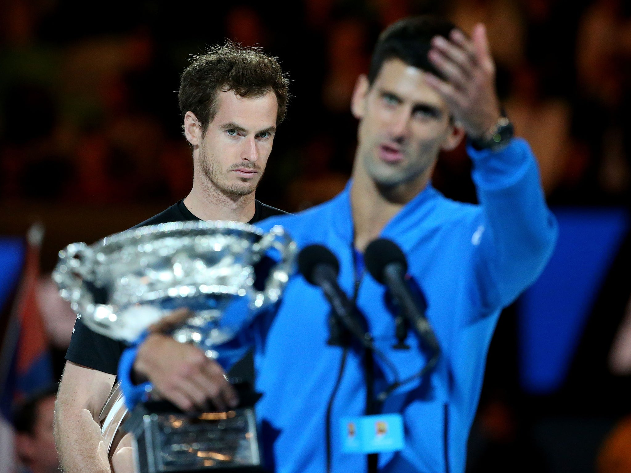 Australian Open Novak Djokovic Wants To Talk With Andy Murray To End Hard Feelings After Final Controversy The Independent