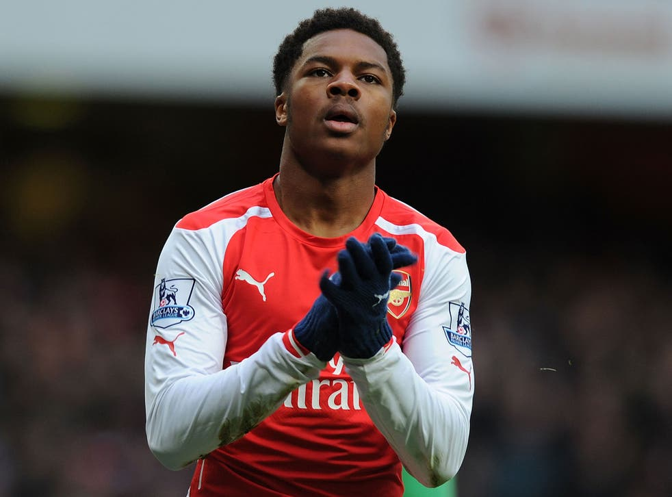 Arsenal striker Chuba Akpom