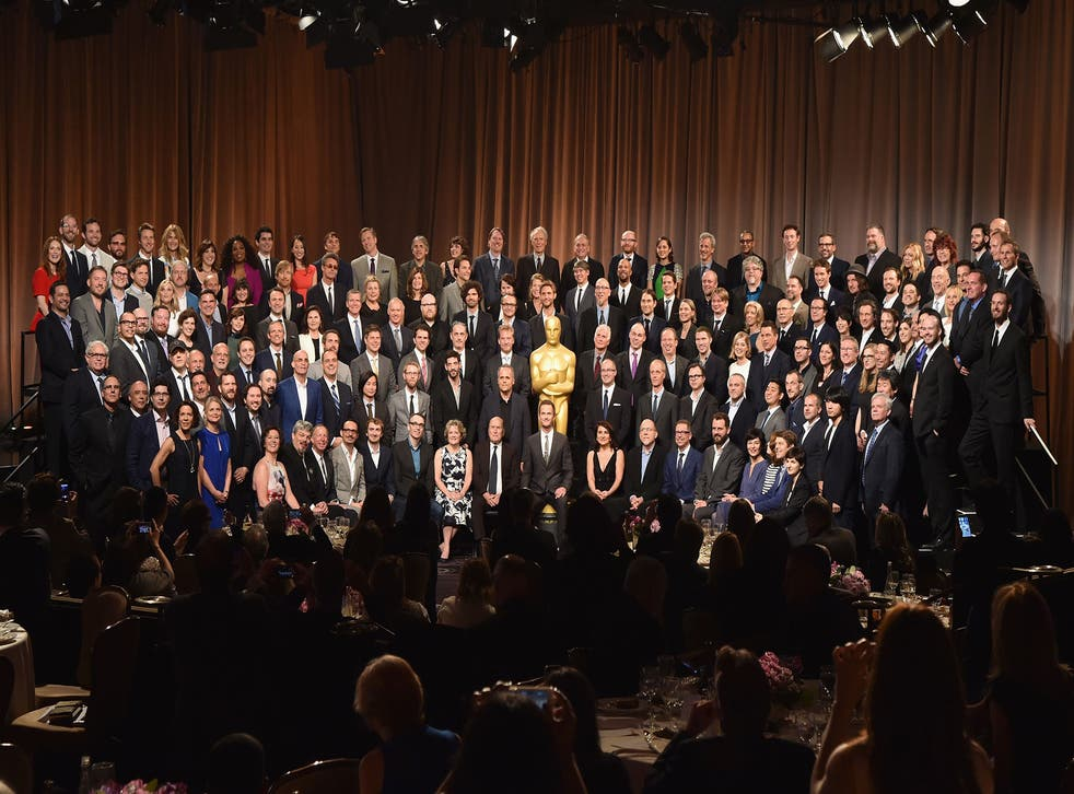 The 2015 Oscar nominees attend the annual Academy Awards luncheon in Hollywood