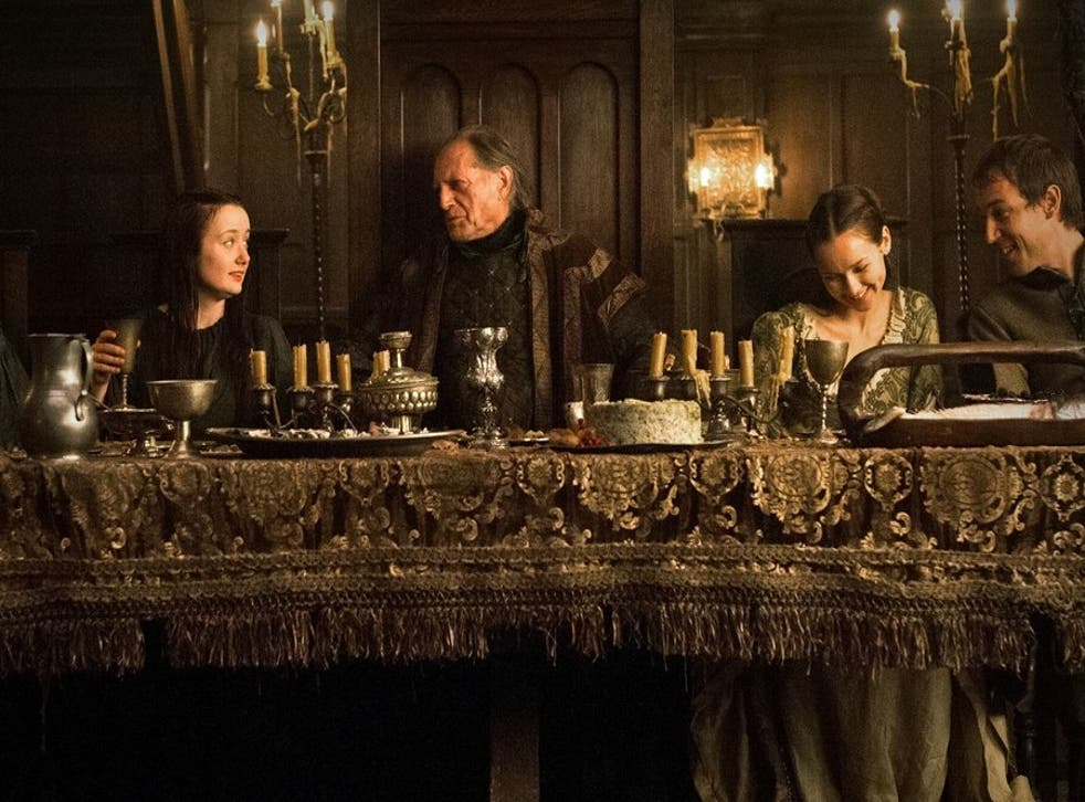 Fingers crossed the banquet won't end like the one at the Red Wedding