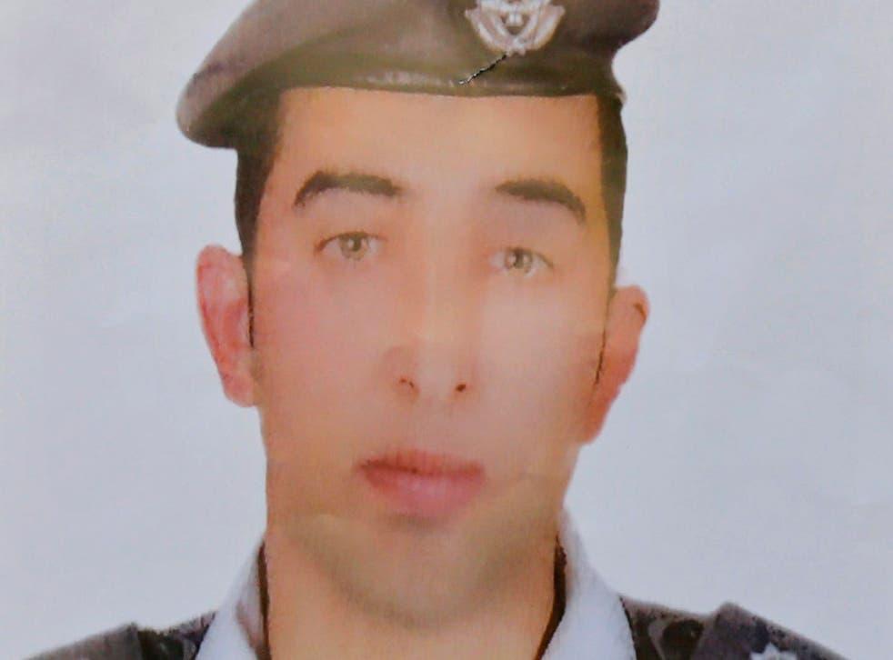 Jordanian pilot Muath al-Kasaesbeh