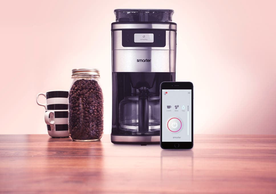 You can be woken up with a fresh cup of coffee using this