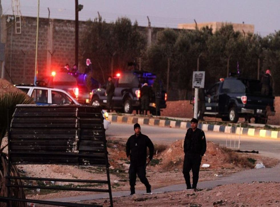 The executions of Sajida al-Rishawi and Ziad al-Karbouly took place at Swaqa prison