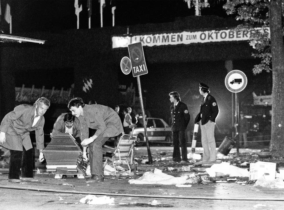 Thirteen were killed in the 1980 attack on the beer festival in Munich
