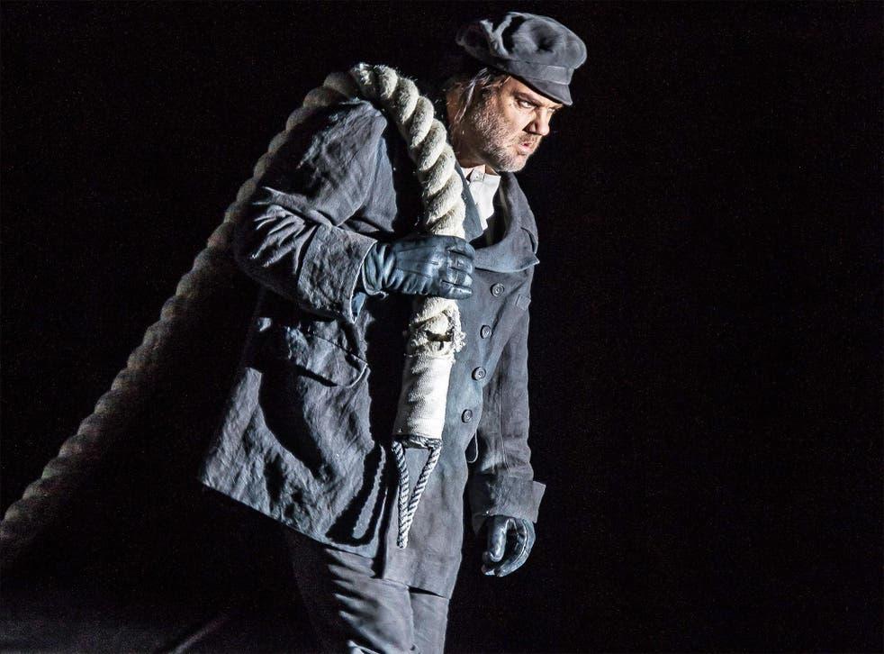 Bryn Terfel in 'Der Fliegende Holländer'