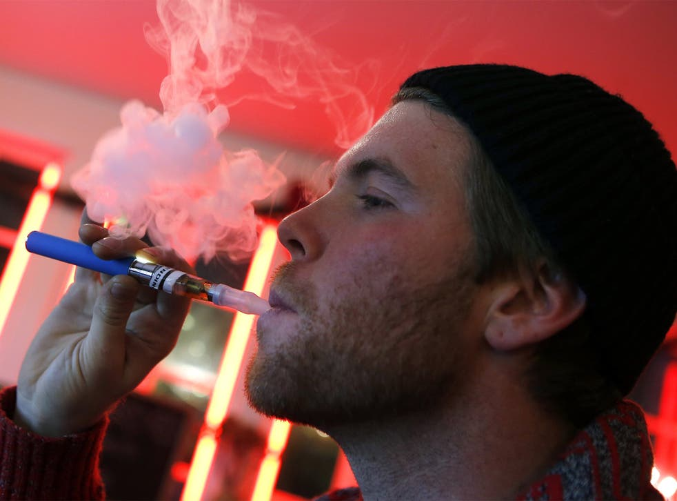 E-cigarettes have been added to the basket as an increasing number of consumers switch to try and quit