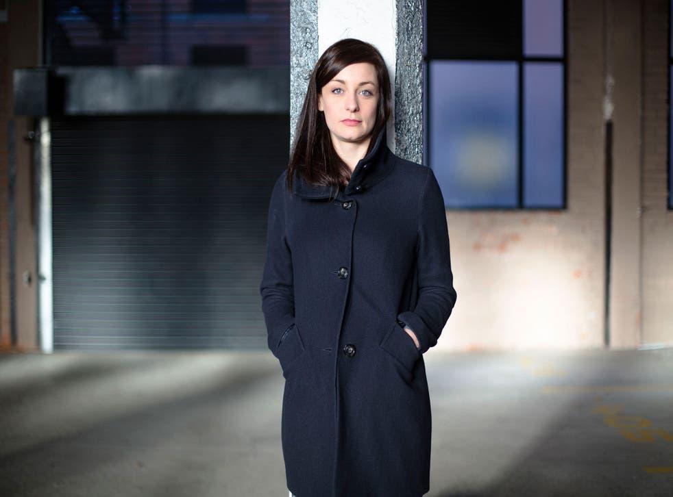 Assured: BBC3 reporter Alys Harte
