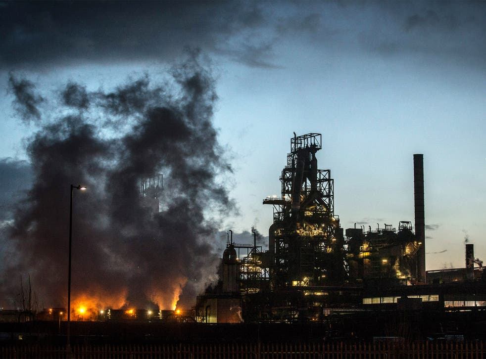 The Tata plant at Port Talbot provides employment for much of the local community.