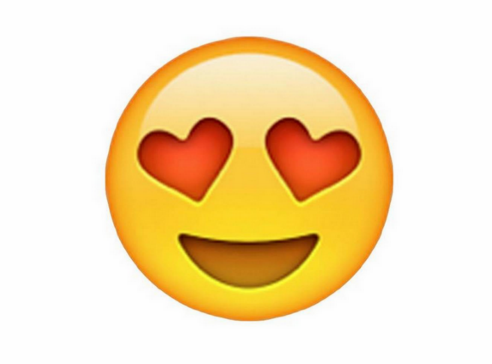 """Single men are more likely than their female counterparts to use the """"heart eyes"""" emoji"""