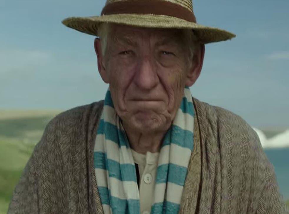 Ian McKellan stars as a 93-year-old Sherlock Holmes