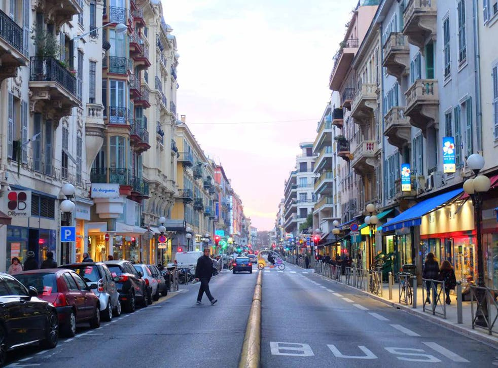 Streets ahead: Nice is France's fifth largest city