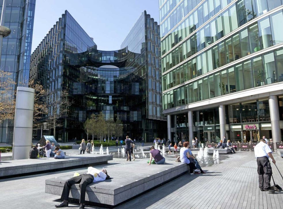 PwC's London offices. The company is said to promote schemes to divert profits to low-tax Luxembourg