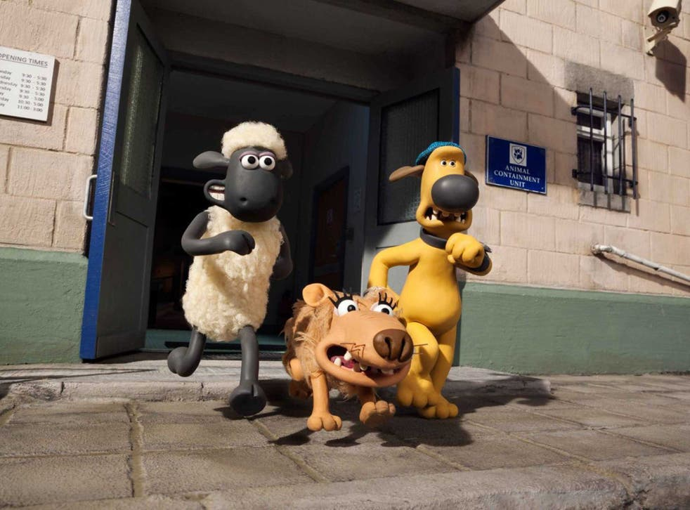 Shear pleasure: Aardman's 'Shaun the Sheep Movie' is a treat for adults and children