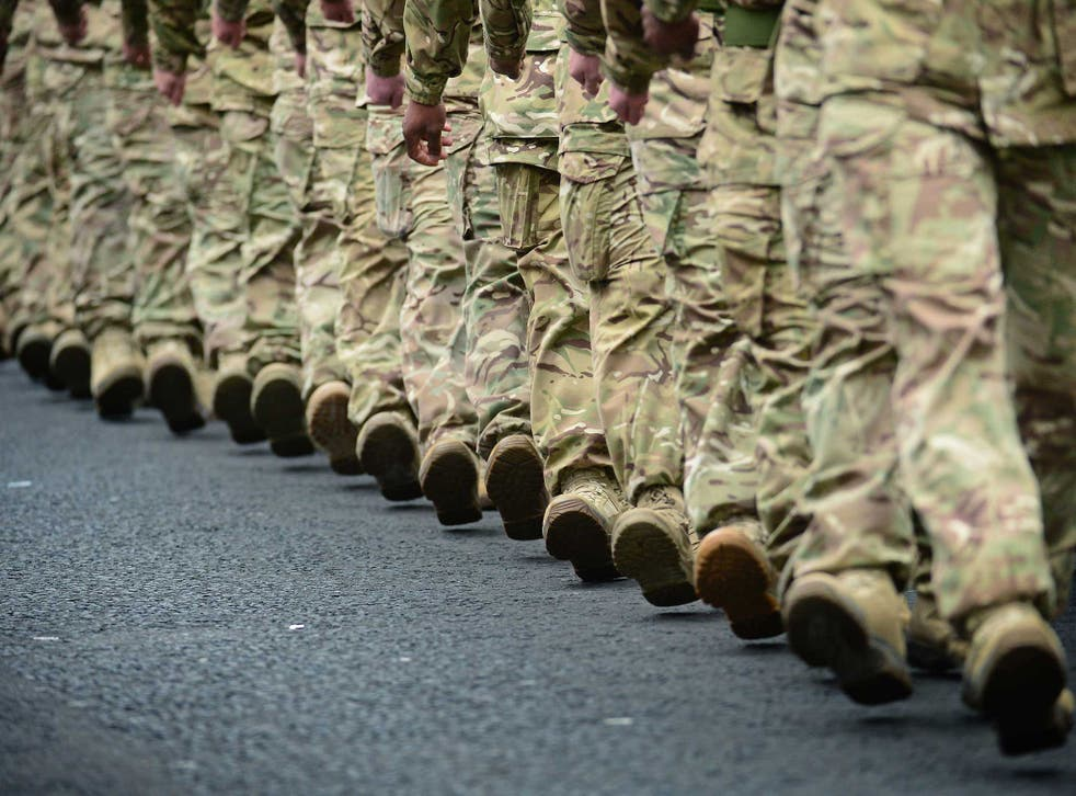 The percentage of Muslims joining the British Army has been consistently lower than those of other religions