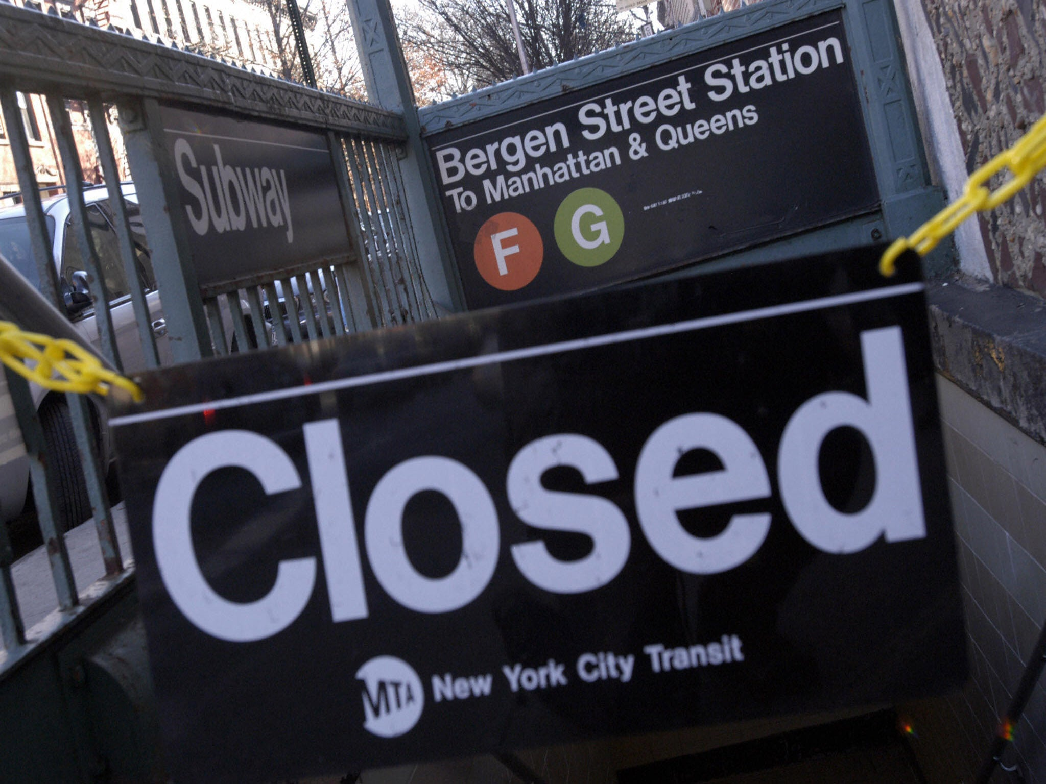 Картинки по запросу 2005 New York City transit strike