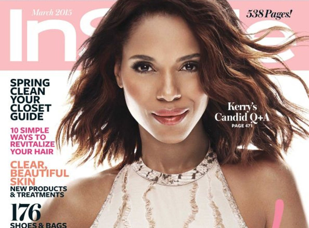 Kerry Washingtons InStyle Cover Causes an Upset