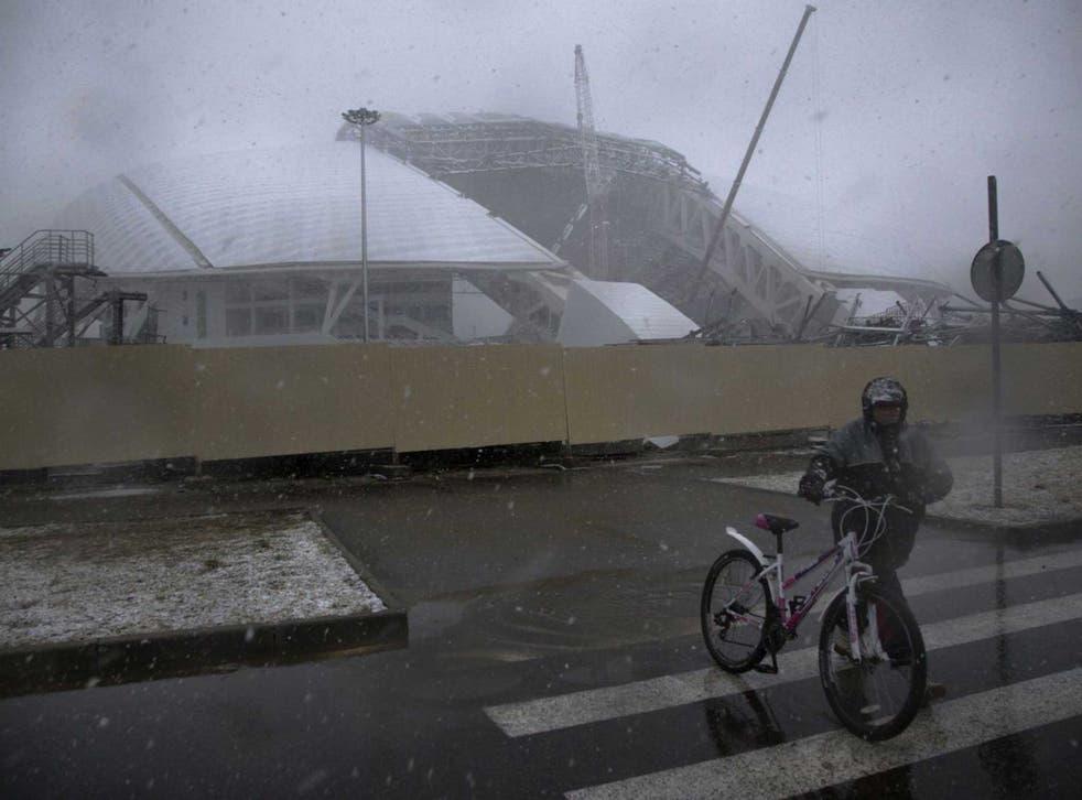 Abandoned sochi olympics Dirty Games: