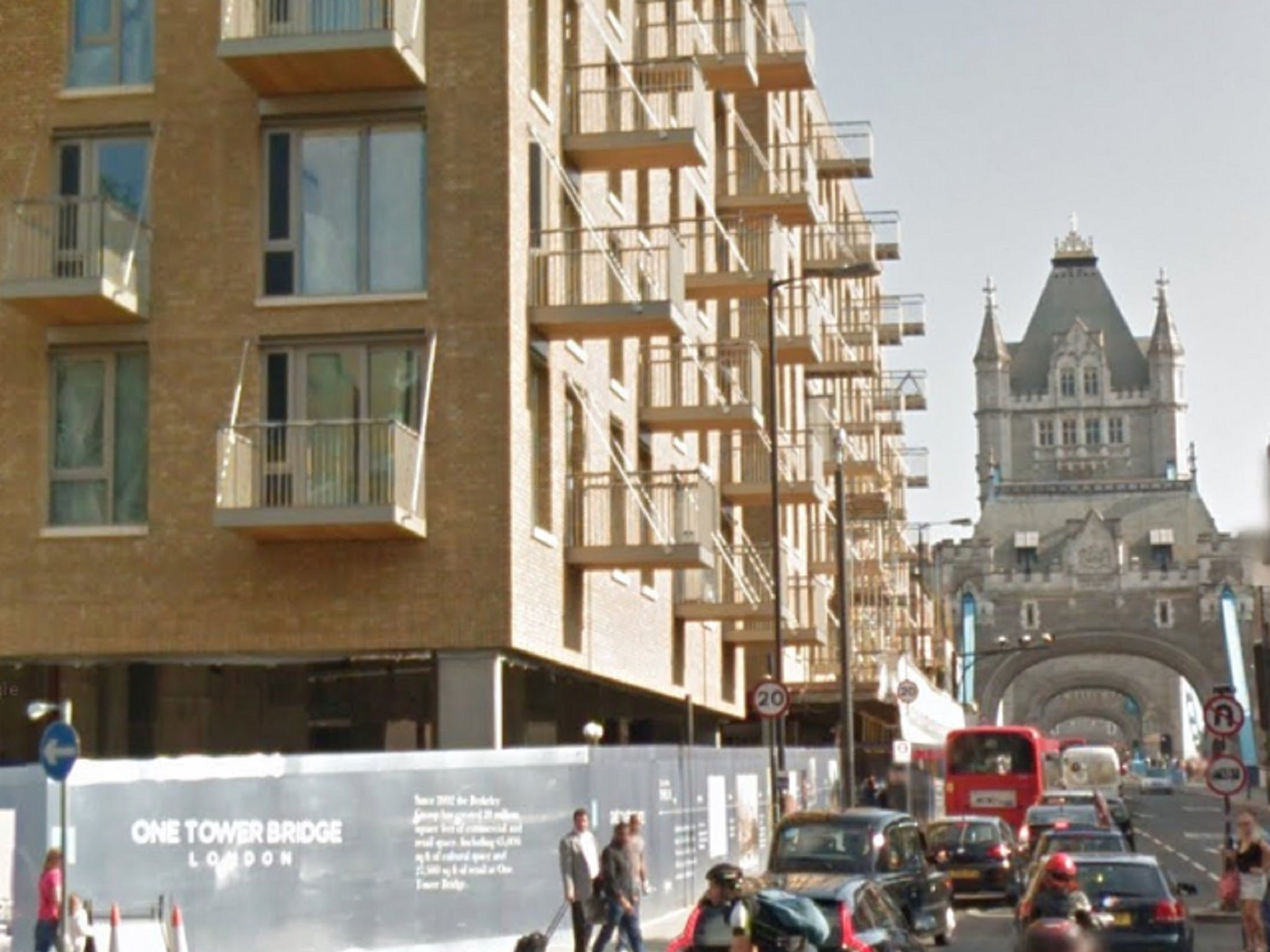 Social housing tenants banned from using garden in Tower Bridge ...