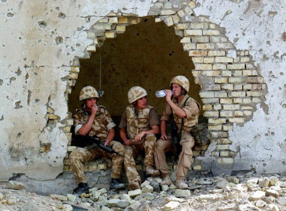 The experience of the British military in Basra in 2003 has led to a refusal to engage fully in the current crisis
