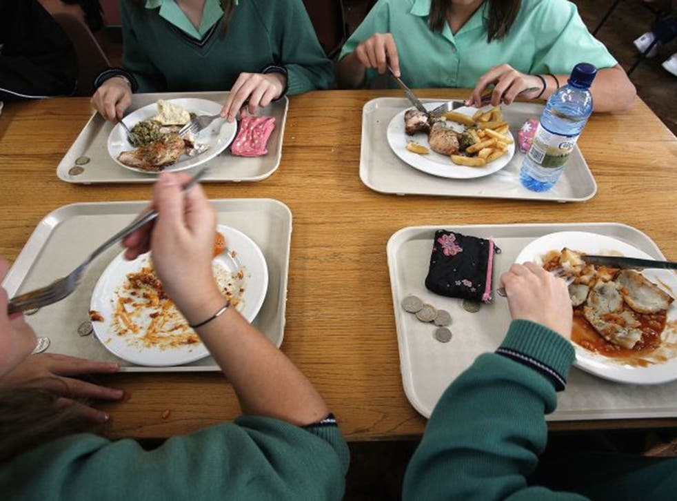 School meals are one area where the UK's food waste can be reduced