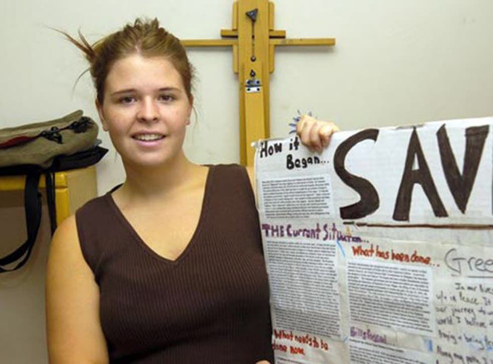Kayla Mueller was abducted in 2013 while helping refugees of the Syrian civil war