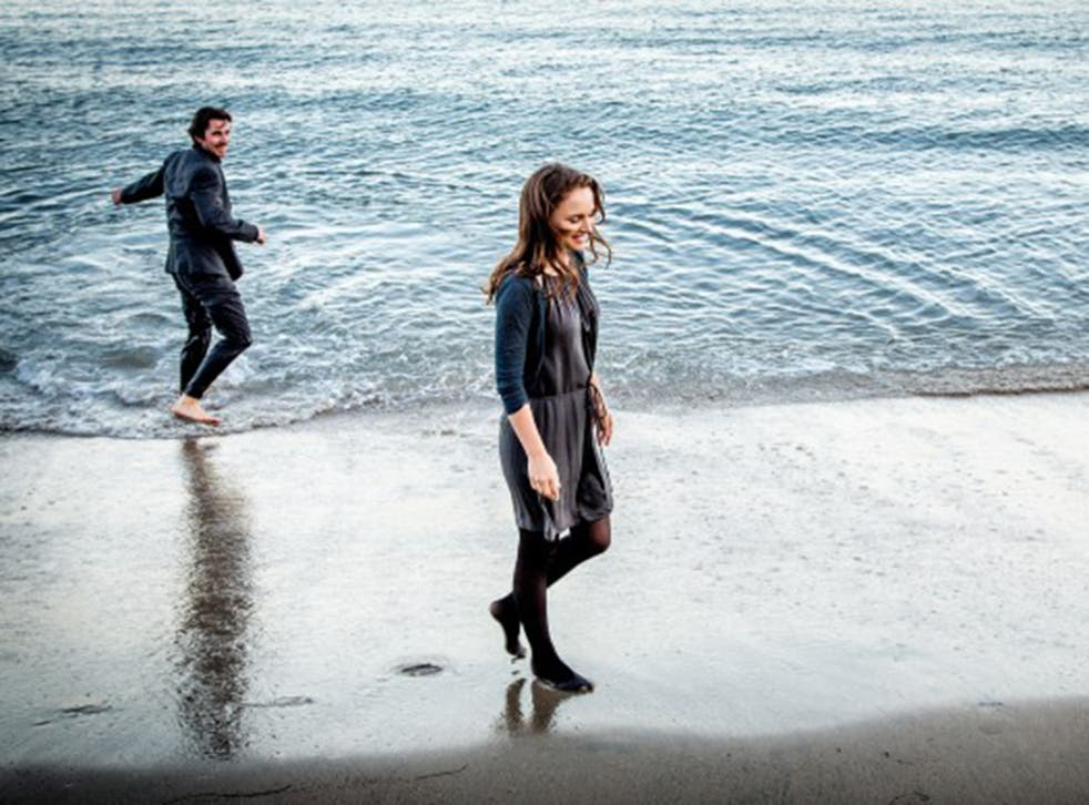 Christian Bale and Natalie Portman in 'Knight of Cups'