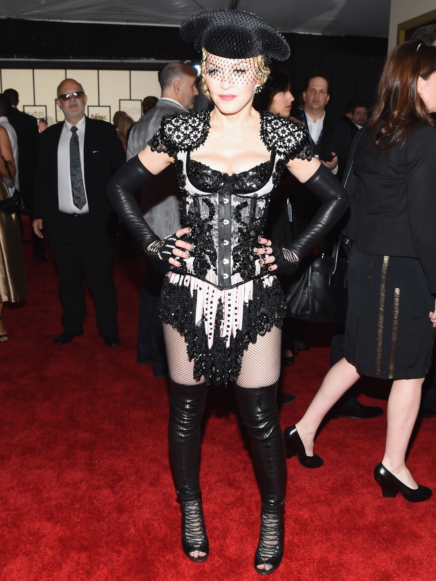 Matador Sends Twitter Wild The At Grammys Madonna's Outfit pqfw4UU