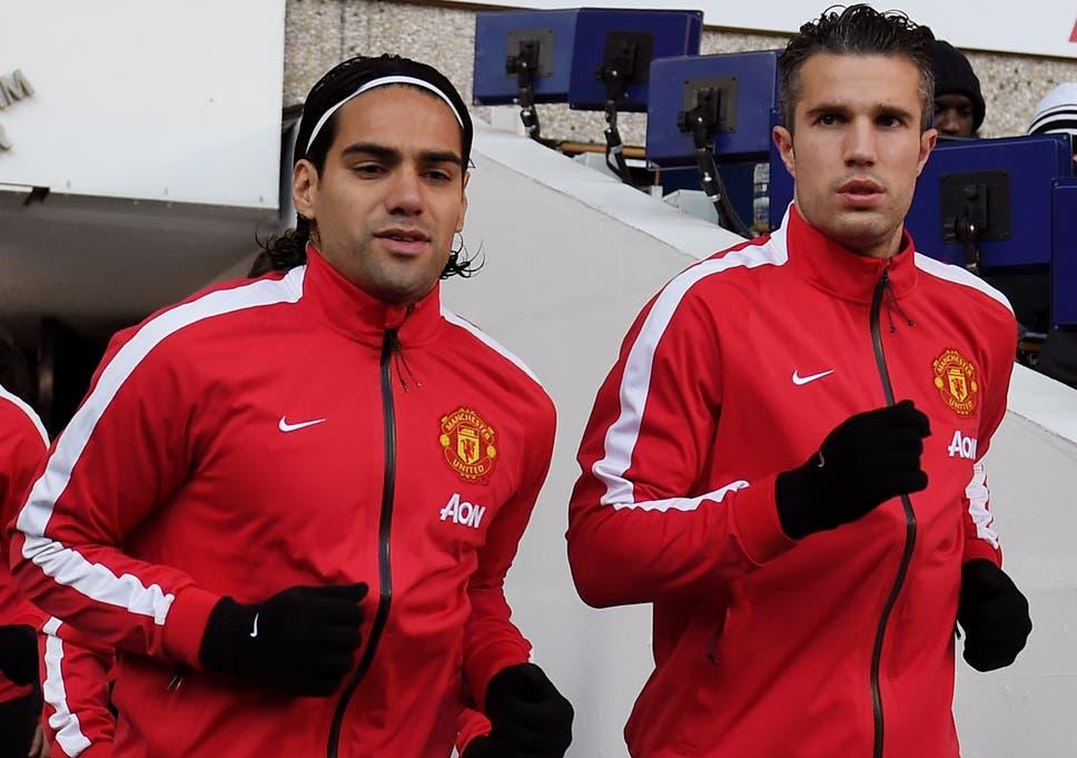 2d8f479c33e Robin van Persie and Radamel Falcao partnership for Manchester ...
