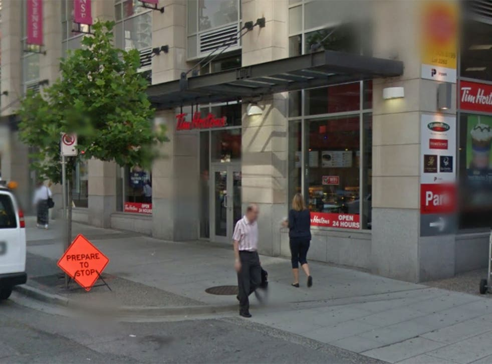The branch of Tim Hortons in Vancouver