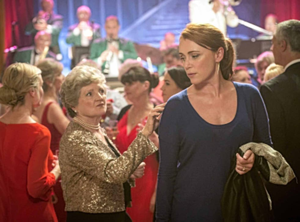 Class act: Julia McKenzie and Keeley Hawes in 'The Casual Vacancy'