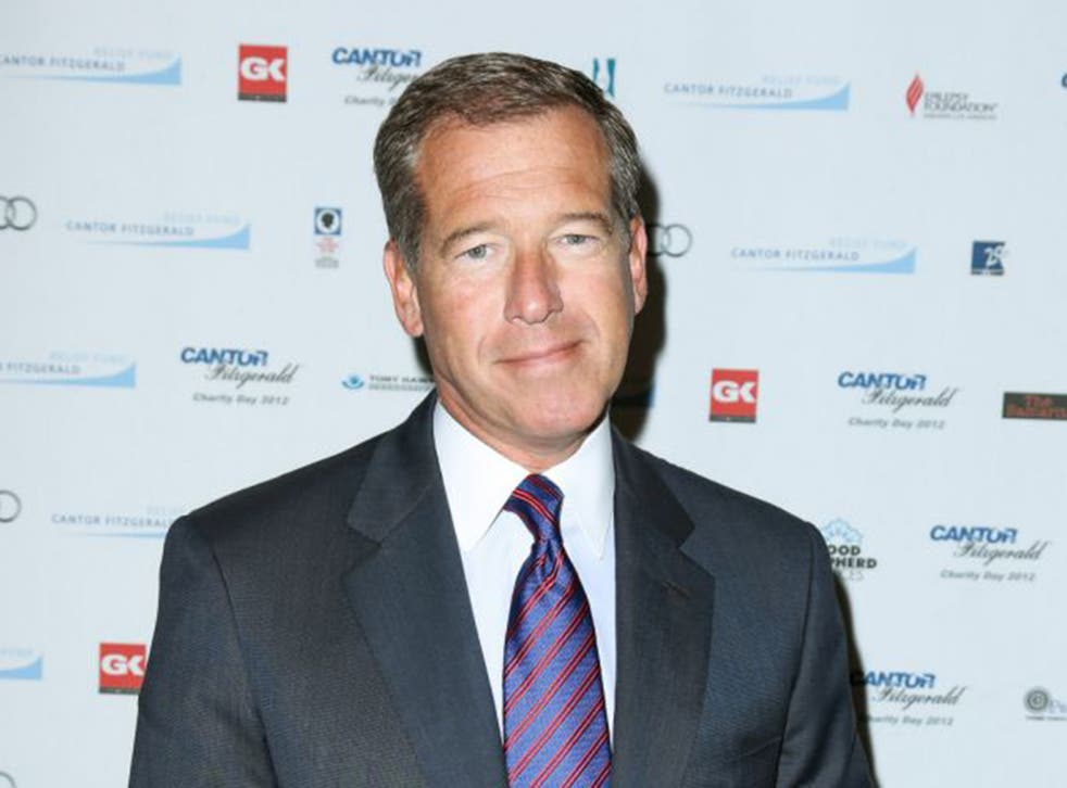 Brian Williams is NBC's nightly news anchor