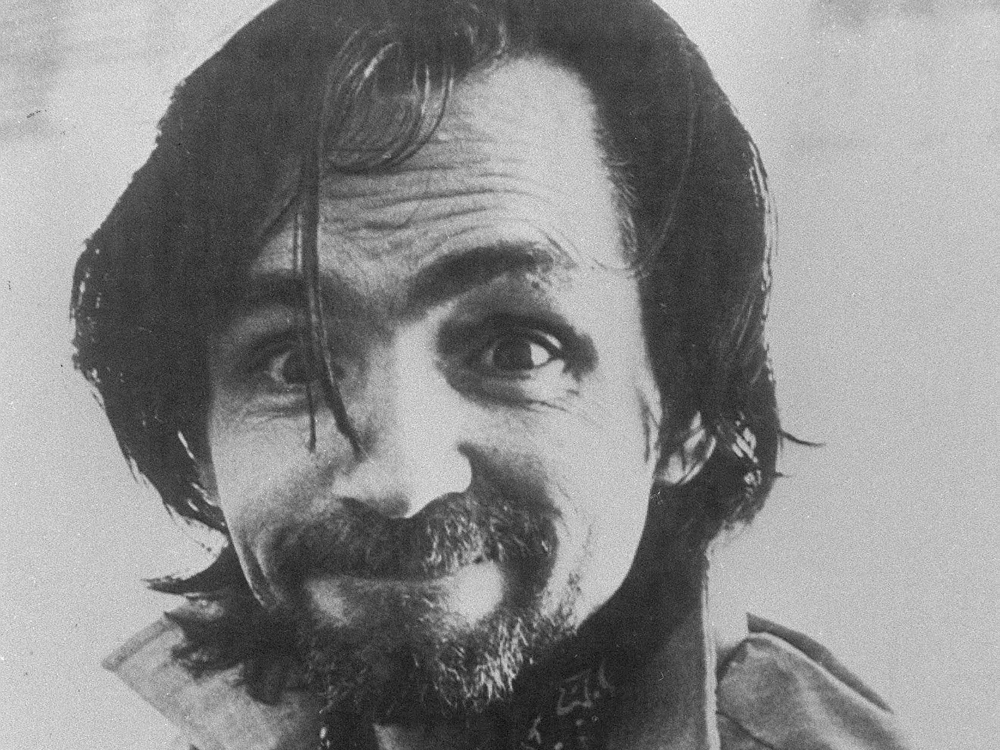 Image result for charles manson photo