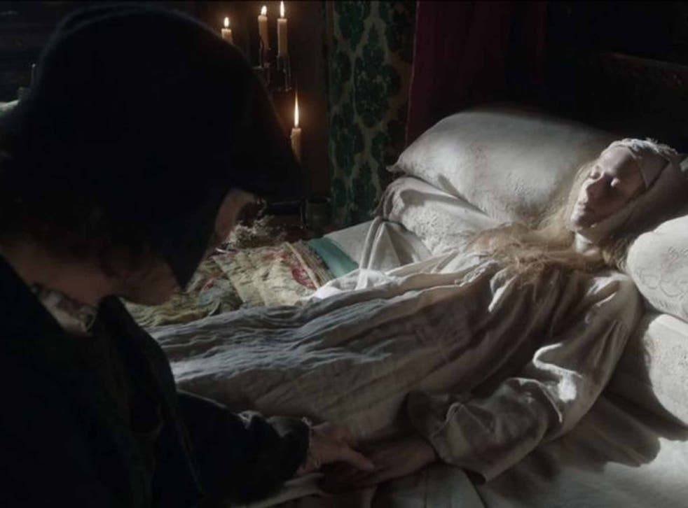 A death in the family: Cromwell mourns his wife in 'Wolf Hall'