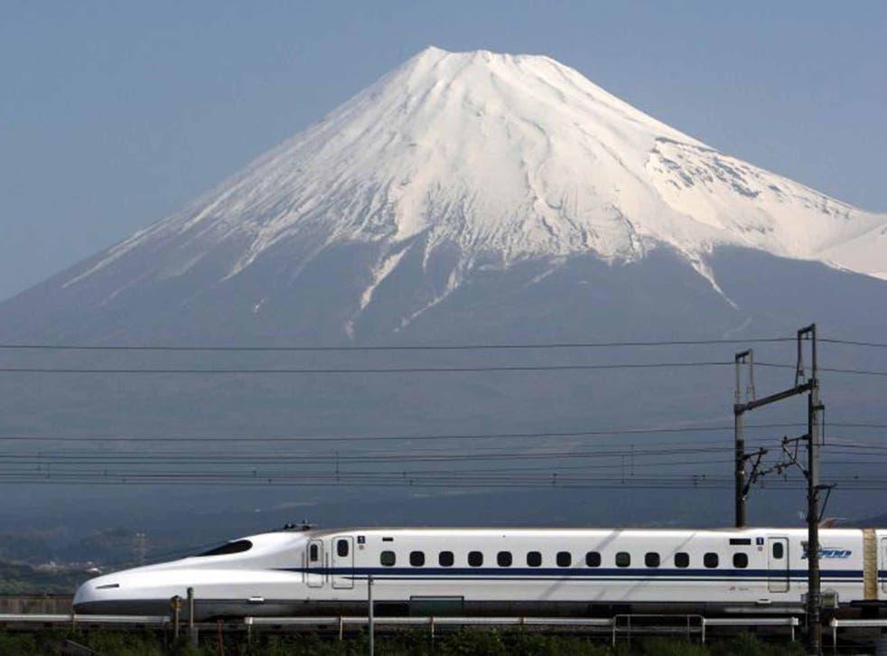 Designs for Japanese life: the Shinkansen bullet train