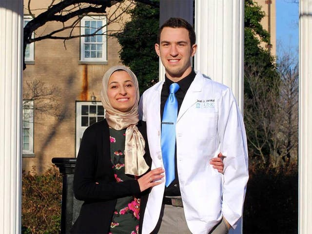 Deah Barakat was a dental student at UNC who worked for a charity giving dental care to Palestinian children and refugees