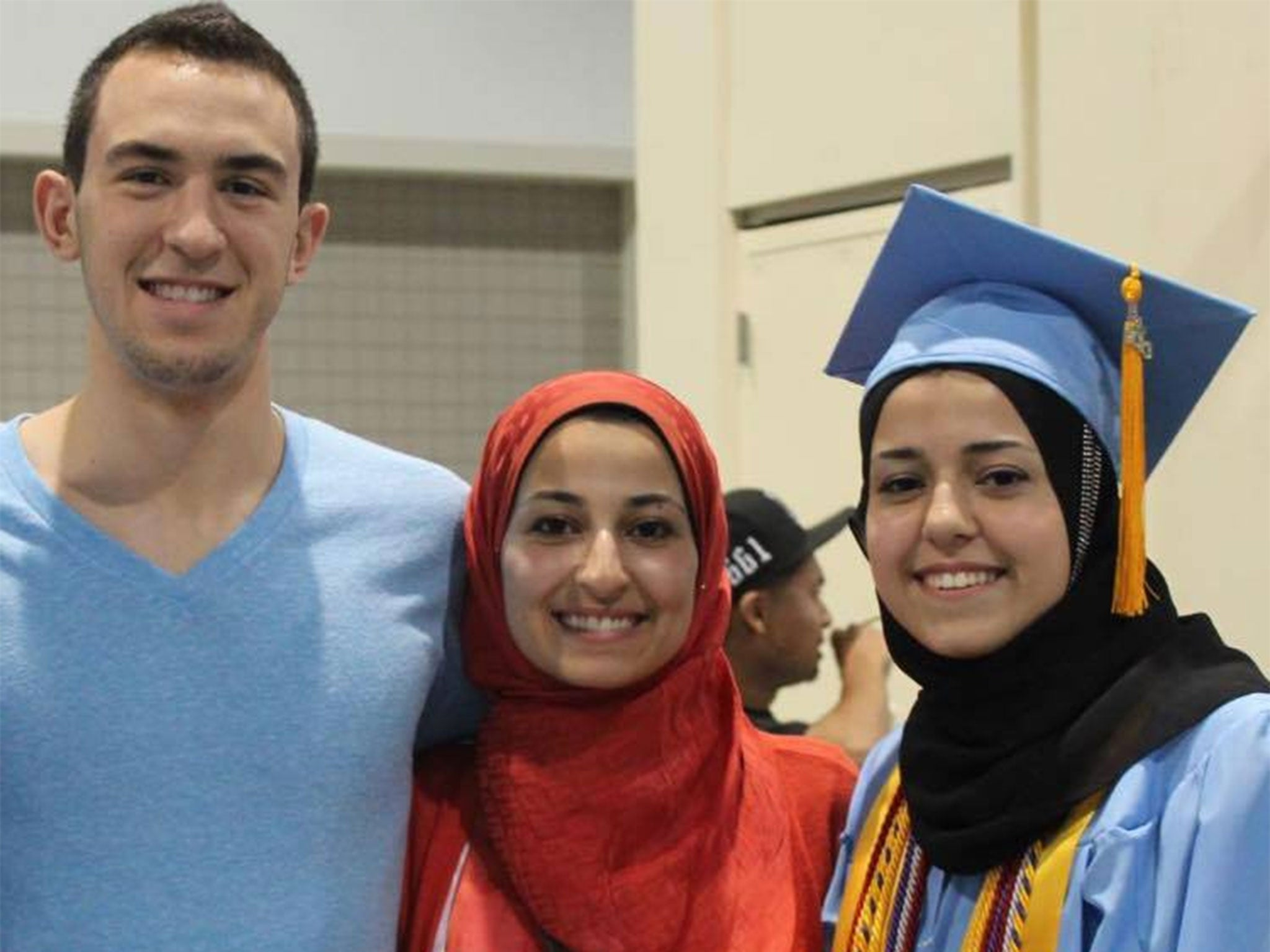 Muslim students murdered in North Carolina, USA, Deah Shaddy Barakat, Yusor Mohammad and Razan Mohammad Abu-Salha