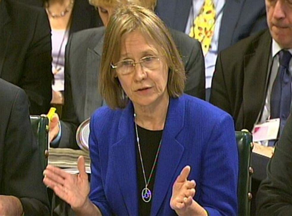 Lin Homer answers questions in front of the Public Accounts Select Committee in the House of Commons